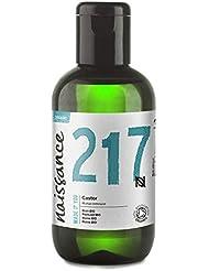 Naissance Huile de Ricin BIO (n° 217) Pressée à froid - 100ml – 100% pure, certifiée BIO, vegan, sans hexane, sans OGM