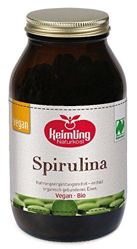 Keimling Bio Spirulina pur (300 Tabletten), 120 g