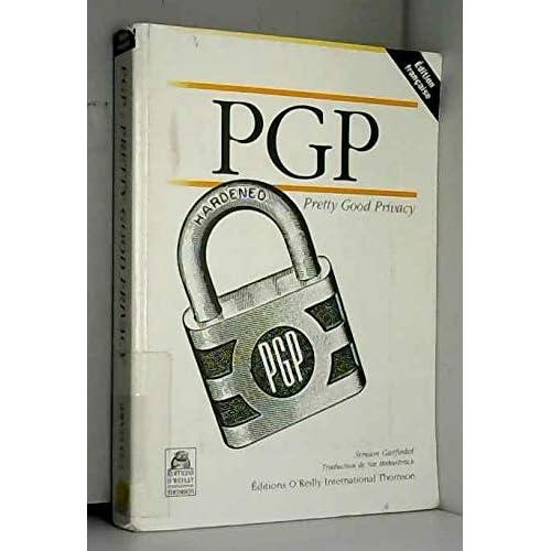 PGP, pretty good privacy