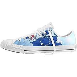 George Oy , Damen Sneaker Gr. 46, weiß
