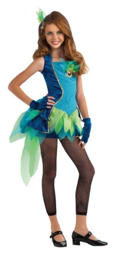 Rubie's Drama Queens Tween Peacock Costume - Tween Medium (2-4) by Rubie's Costume Co