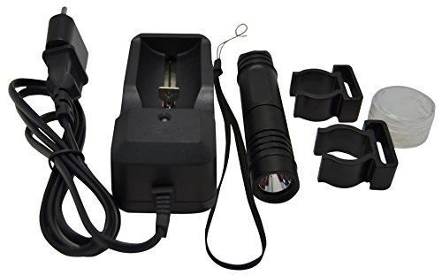 Aquatys Lampe À LED pour Masque AQUALITE 130 Phare de plongée Mixte Adulte, Noir