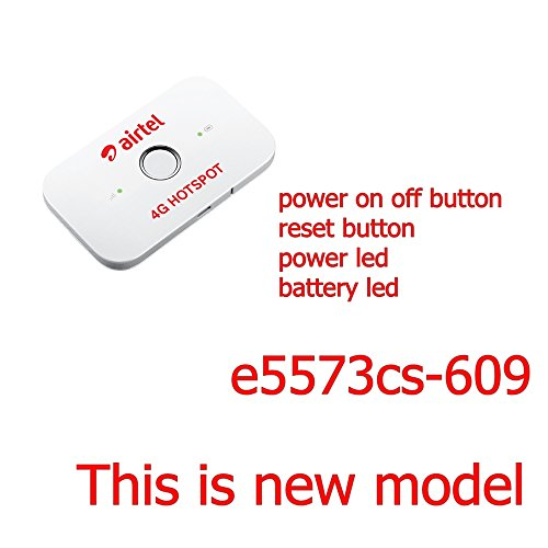 Huawei Airtel 4G Latest Model Wifi E5573cs-609 Unlocked Works With Any 2g/3g/4g Networks Free Working Good Quality 1 Mtr Usb Extension Cable + Usb Charger You can also use this charger For Your mobile