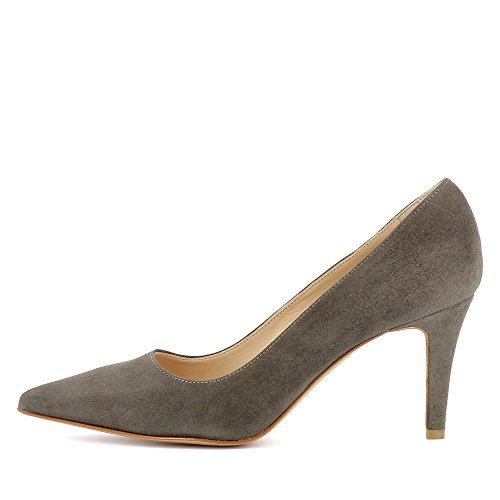 Evita Shoes Jessica, Scarpe col tacco donna Fango