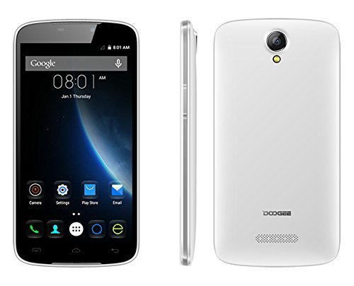 'DOOGEE X6PRO smartphone 5.5(Quad Core, 2GHz, 2GB RAM, 16GB Storage) Bianco