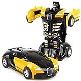 Transform - Robot de juguete para niños con forma de coche Transformers