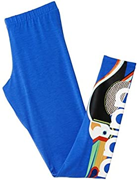 adidas - Hosen und Tights - Linear Leggings - Lab Blue F12 - 32