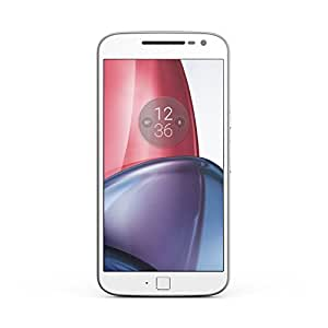 Motorola Moto G4 Plus 16GB SIM-Free Smartphone 2 GB RAM (Dual SIM) - White (Exclusive to Amazon)
