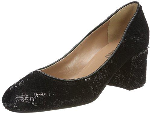 Pollini w.shoe, scarpe con tacco donna, nero, 38 eu