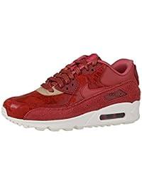 Nike Damen Wmns Air Max 90 Essential Turnschuhe Grau (WLF Gry/Ghst Grn-Drk Gry-Smmt) 36 EU/5.5 US
