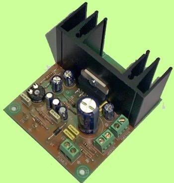 CEBEK - Amplificador De 20W De 2 Vias Ce-E14