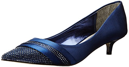 Nina Emmie Satin Talons New Navy