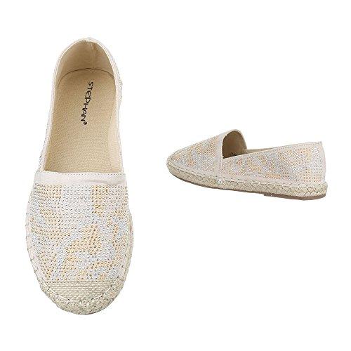 Ital-Design , chaussons dintérieur femme Beige