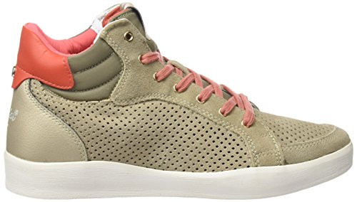 Wrangler Wave Mid Damen High-Top Beige (237  Lt. Taupe)