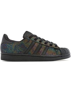 Adidas Superstar Black Iridescent J, Zapatillas de Deporte Unisex Niños