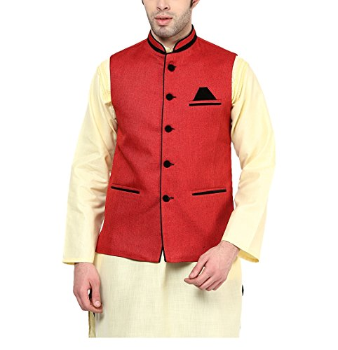 Yepme Men's Blended Nehru Jackets - Ypmnjkt0138-$p