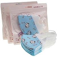 Packung mit 10 Kinder Nette Einweg 3D Gesichtsmaske Staubfilter Mund Abdeckung-Hund preisvergleich bei billige-tabletten.eu