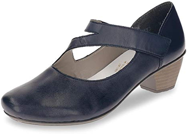 Rieker 41793-03 Obermaterial Leder, Scarpe con Cinturino alla Caviglia Donna | A Prezzi Convenienti  | Gentiluomo/Signora Scarpa