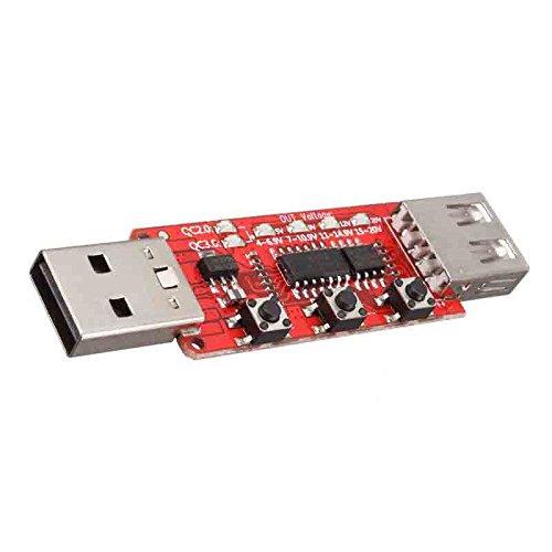 quickbuying 1QC2.0/qc3.0Tester erkennt automatisch Telefon Schnelles Aufladen Spannung Meter Simulator Trigger 9V/12V/20V Alterung Test Board