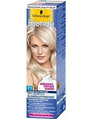 Blonde T1 Kühles Platinblond Blondauffrischer, 3er Pack (3 x 75 ml)
