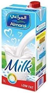 Almarai Low Fat Milk Screwcap With Vitamin, 12 x 1 Liter