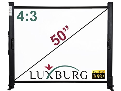 luxburg-50-inch-101-x-76-cm-full-hd-3d-table-desk-projector-screen-matt-white