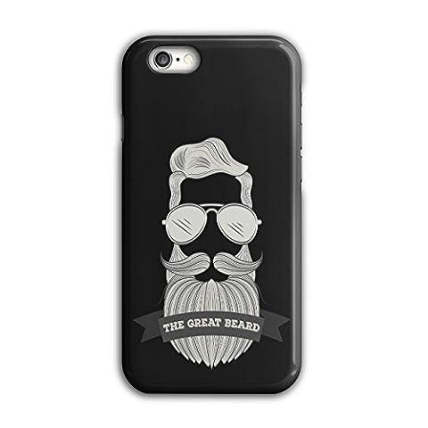 Hipster Bart Mode Behaart Mann iPhone 6 / 6S Hülle | Wellcoda