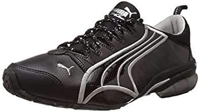 Puma Men s Voltaic DP Black Running Shoes - 11 UK India(46EU)  Buy ... b392dd0c1