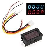 Pannello Voltmetro Amperometro Digitale Misuratore LCD DC 100V 50A 4 Cifre
