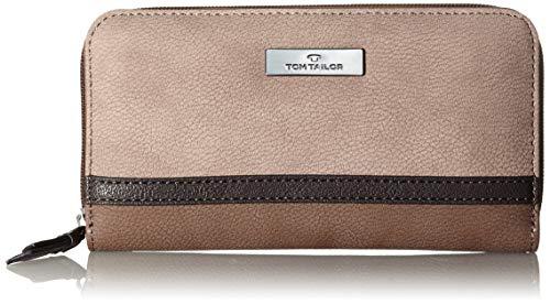 TOM TAILOR Portemonnaie Damen Elin, (Braun), 28.5x26x9 cm, Tom Tailor Geldbörsen Damen, Geldbeutel