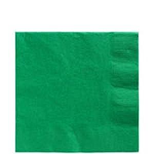 amscan Servilletas Grandes, Papel, Verde