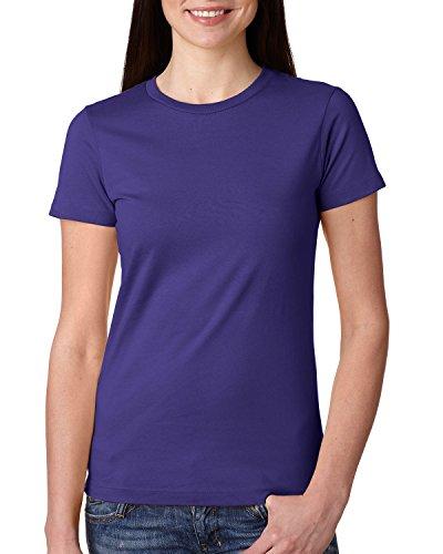 Next Level Damen T-Shirt Violett - PURPLE RUSH