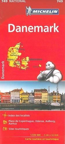 Mapa National DINAMARCA (Mapas National Michelin)