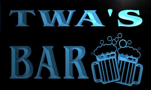 w118888-b-twa-name-home-bar-pub-beer-mugs-cheers-neon-light-sign