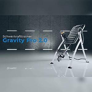 MAXXUS Gravity Pro 2 Schwerkrafttrainer, Inversionsbank Mit Feststellbremse
