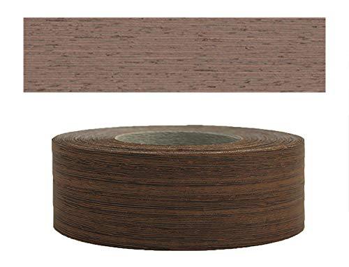 Mprofi MT® (5m Rotolo) Bordi in vero legno per i bordi dei mobili con colla Wengè 60 mm