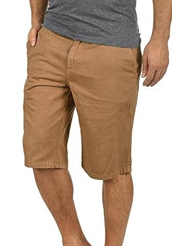 SOLID Viseu - Pantalon Chino Short - Homme, taille:M;couleur:Cinnamon (5056)
