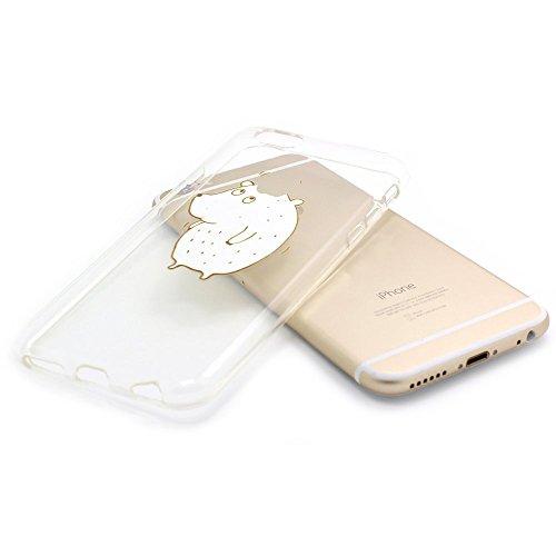 JIAXIUFEN TPU Coque - pour Apple iPhone 6 Plus / iPhone 6S plus Silicone Étui Housse Protecteur - Amusantes Capricieux Dessin Evil Color20