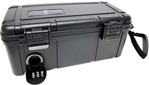 SwagGear Geruchssichere Aufbewahrungsbox - verschließbare Aufbewahrungsbox - diskrete Schlossbox - geruchssichere Aufbewahrungsboxen Large Ananas (Für Box Stash Unkraut)