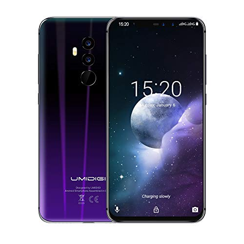 Mobile Phones Unlocked,UMIDIGI S2 Lite SIM Free 4g smartphone,6 inch HD (18:9 full screen) 5100mAh, Face Unlock,1.5GHz Octa Core ,4GB RAM + 64GB ROM, 16.0MP + 5.0MP Dual Rear Cameras Type-C,Android 7.0--Red