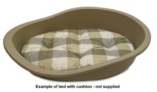 SONNY-Classic-Plastic-Dog-Bed-95-MUSHROOM