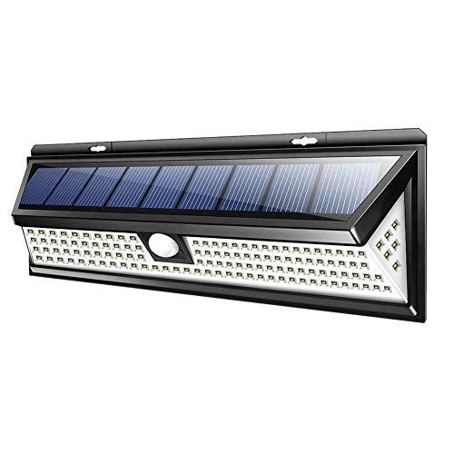 SODIAL 118 Led Solar Lampe Au?en Garten Yard Wasserdichte Pir Motion Sensor Licht Sicherheit Lichter Für Haus Tür Hinterhof Garage