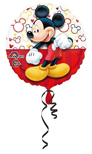 amscan Folienballon Micky Maus (Disney Duo Kostüm)