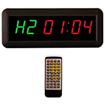 EU LED Timer interval Programmable Countdown/UP stopwath Real time clock