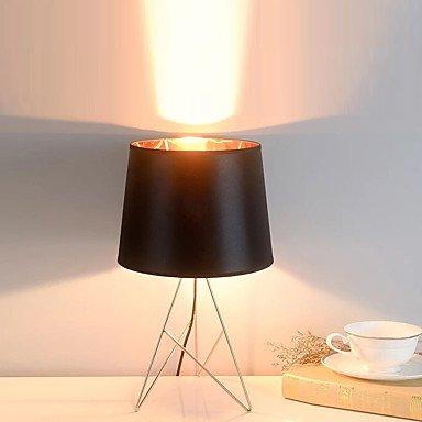 GAG-Schreibtischlampen@Zeitgenössisch Künstlerisch Moderner Stil Tischleuchte, Eigenschaft für Dekorativ Ambient Lampen, mit Benutzen An-/Aus-Schalter, black - Moderner Ambient-beleuchtung