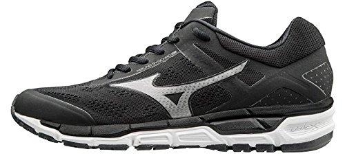 Mizuno Synchro Mx, chaussures de course homme noir