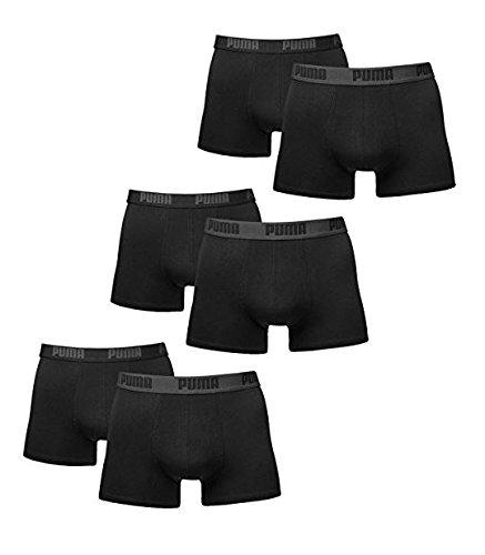 PUMA Herren Spezialpack Boxer Boxershort 6er Pack (L, Schwarz/Black)