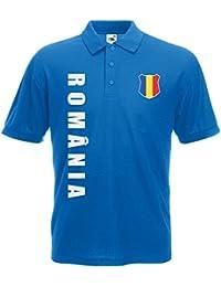 Rumänien Romania Polo-Shirt Trikot Wunschname Wunschnummer
