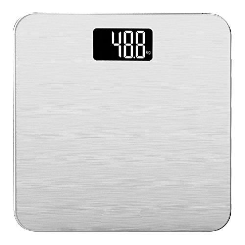 Smart Weigh Digitale Personenwaage, Silber
