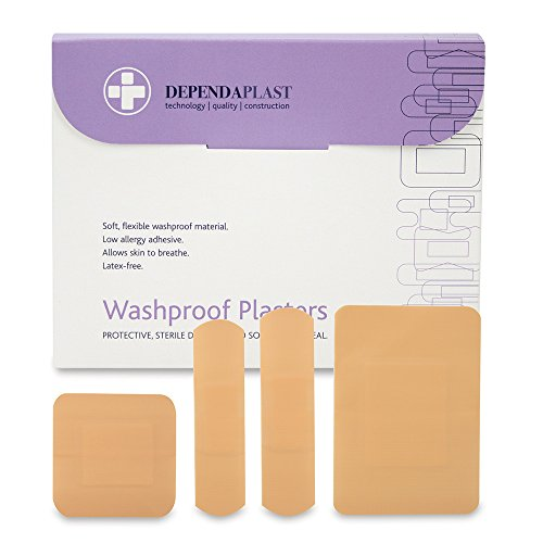 reliance-medical-assorted-sizes-dependaplast-washproof-plasters-pack-of-100